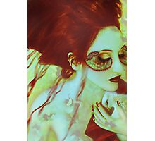 The Bleeding Dream - Self Portrait Photographic Print