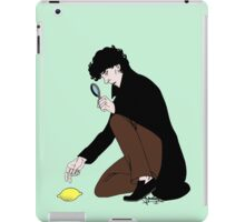 Guess Who Found the Lemon?! iPad Case/Skin
