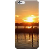 Moriches Bay Sunset | Center Moriches, New York  iPhone Case/Skin