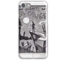 The Cabinet of Doctor Caligari iPhone Case/Skin