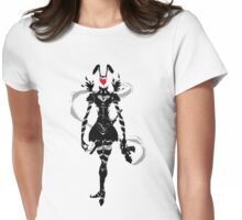 The Ace of Hearts Womens Fitted T-Shirt