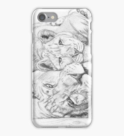Feline love iPhone Case/Skin