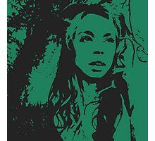Grav3yardGirl Cartoon Photographic Print