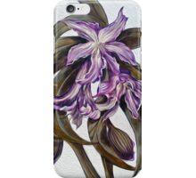 Wild Blue: Amaryllis, by Alma Lee iPhone Case/Skin