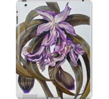 Wild Blue: Amaryllis, by Alma Lee iPad Case/Skin