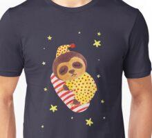 Sleeping Like a Sloth Unisex T-Shirt