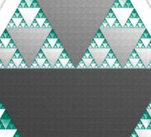 Sierpinski Triangle 20150123-004 Sticker