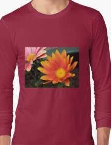 Bright and Beautiful - Bella Cape Daisies Long Sleeve T-Shirt