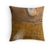 Be Free from Mars Throw Pillow