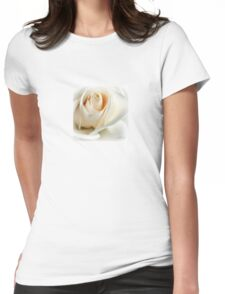 Wedding Rose Womens Fitted T-Shirt