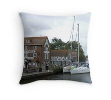 The Old Granary Wareham Dorset  Throw Pillow