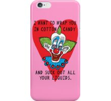 Killer Klown Love iPhone Case/Skin
