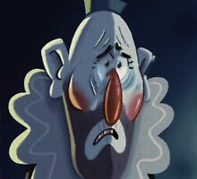 Gravity Falls Crying Clown Portrait Replica by The-Sqoou