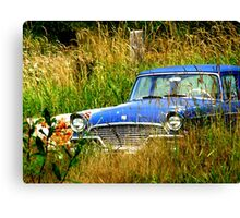 Abandoned Blue #3 Canvas Print