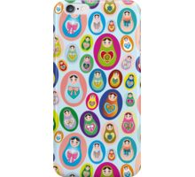 doll matryoshka iPhone Case/Skin