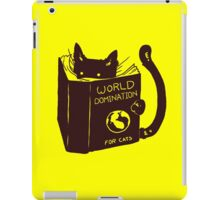 World Domination For Cats iPad Case/Skin