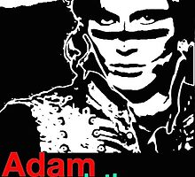 Adam and the Ants design  by kritter80