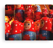 Nesting Dolls Canvas Print