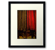 Guess! Framed Print