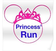 Princess Run Poster