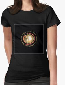 Abstract Art, Flipped Photo, multicolor, gifts, decor and wall art Womens Fitted T-Shirt