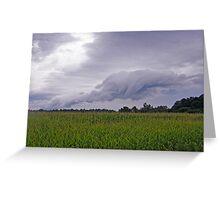 Rain Clouds Greeting Card