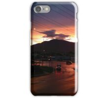 Hobart Sunset iPhone Case/Skin
