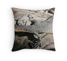 Varanus Mitchelli Throw Pillow