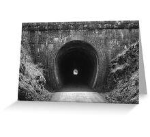 Historical Cheviot Brick Railway Tunnel Greeting Card