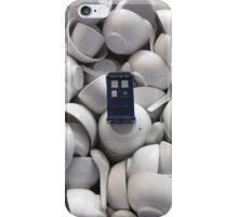 Bowl of TARDIS iPhone Case/Skin