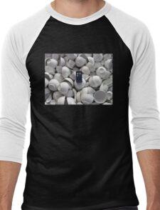 Bowl of TARDIS Men's Baseball ¾ T-Shirt