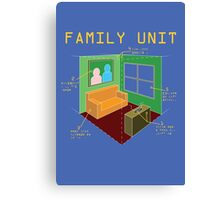 Family Unit Canvas Print