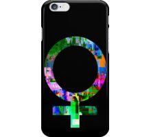 Femme Glitch iPhone Case/Skin