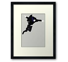The Fall - Sherlock Framed Print