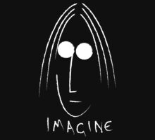 Imagine - John Lennon - White by Steve Dunkley