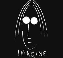 Imagine - John Lennon - White Unisex T-Shirt