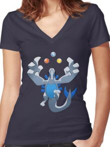 Beast of the sea simplified ver. Women's Fitted V-Neck T-Shirt