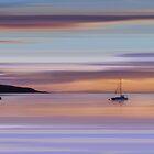 Brodick Bay Dawn, Isle of Arran by bluefinart