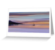 Brodick Bay Dawn, Isle of Arran Greeting Card