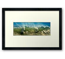 Wave Mist Framed Print