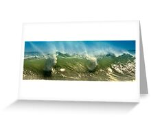 Wave Mist Greeting Card