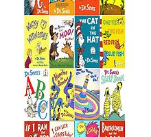 Dr. Suess Books Case by Mbart94