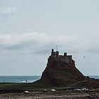 Castle on Holy Isle Northumbria England 19840529 0016 by Fred Mitchell
