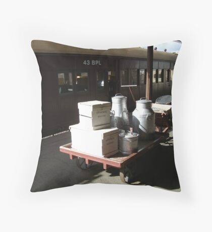 """""""Old Red Rattler"""" Throw Pillow"""