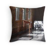 Light in the windows Throw Pillow