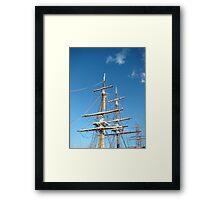 Tall Ships Tasmania Framed Print
