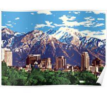 Iconic Salt Lake City Poster
