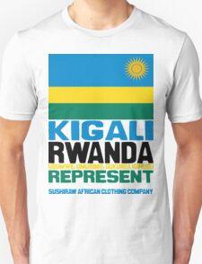 Kigali Rwanda, represent T-Shirt
