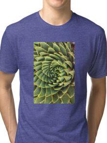 Spiral succulent Tri-blend T-Shirt