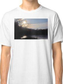 Majestic Indiana Sunset Classic T-Shirt